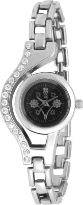 Swisstyle Ss-Lr100-Blk-Ch Vox Analog Watch  - For Women