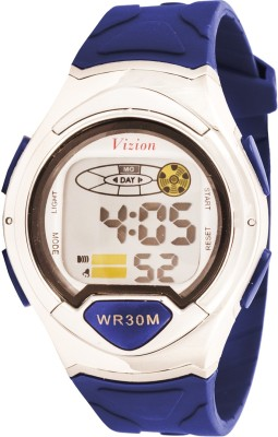 Vizion 8503B-4BLUE Cold Light Digital Watch  - For Boys