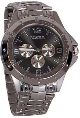 BYC ROSRA 52011 Silver Analog Watch  - For Boys, Men