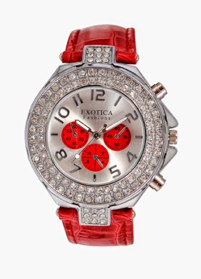 Exotica Fashions EF-N-07-Red Analog Watch  - For Women