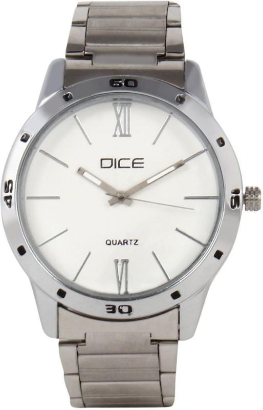 Dice DCMLRD38SSSLVWIT092 Analog Watch For Men