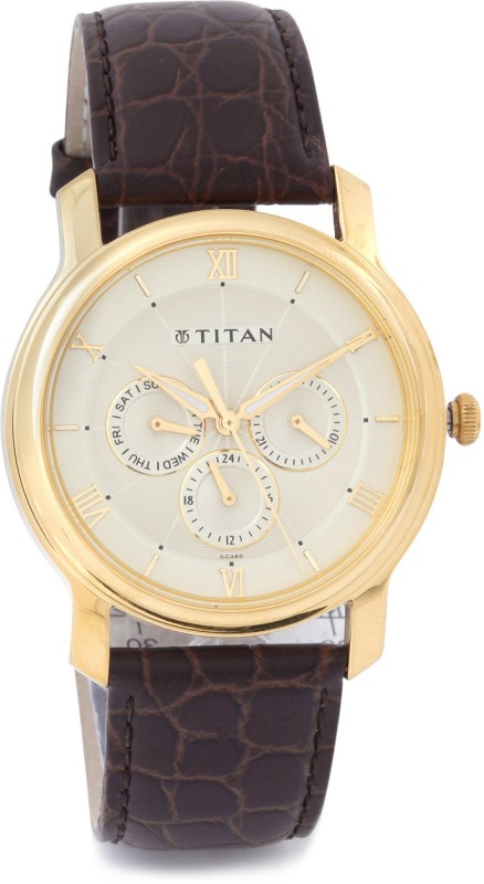 Titan NF1618YL01 Analog Watch For Men