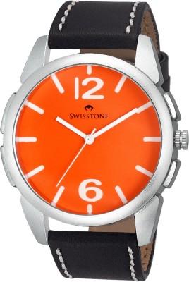 SWISSTONE FTREK612-ORN-BLK Analog Watch  - For Boys, Men