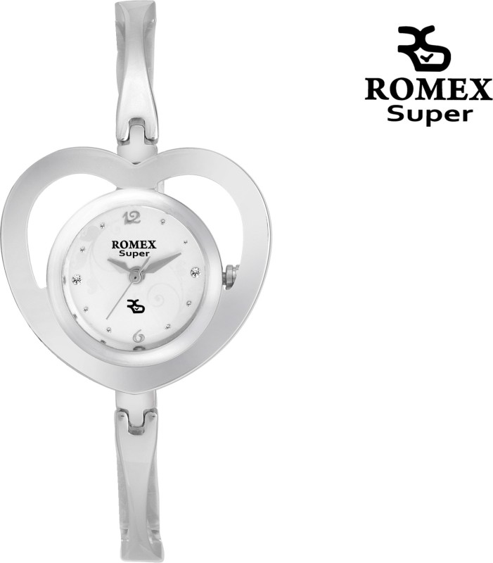 ROMEX HEART SHAPPED 7947 Analog Watch For Women