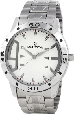 Decode DC-GR009-WHT-CH Decode Analog Watch  - For Men