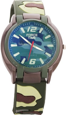 Telesonic TARMY-01 (Green) Force Time Analog Watch  - For Men