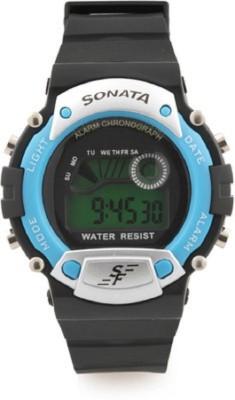 Sonata Super Fiber Digital Watch - For Men