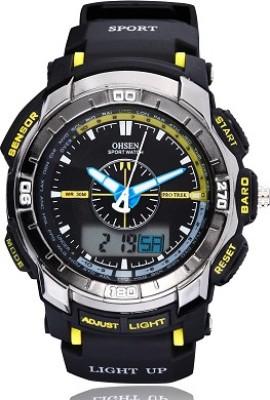 Ohsen AJAD1308-5 Analog-Digital Watch  - For Men