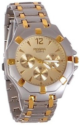 BYC ROSRA 53018 Gold & Silver Analog Watch  - For Boys, Men