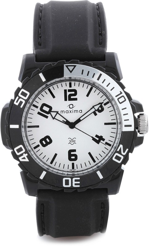 Maxima 29727PPGW Hybrid Analog Watch For Men