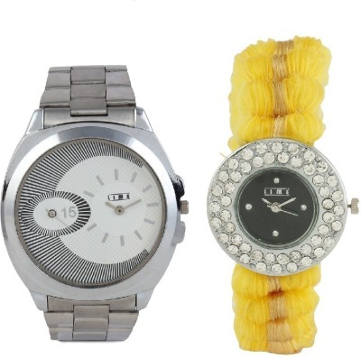 Lime AVW-26lady-06 Analog Watch  - For Couple