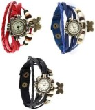JP Vintage Butter fly red-blue-white Ana...
