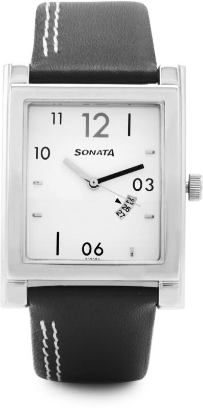 Sonata NH7925SL07A Analog Watch For Men