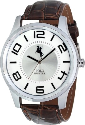 Polo Hunter 5009-1 Modest Analog Watch  - For Men