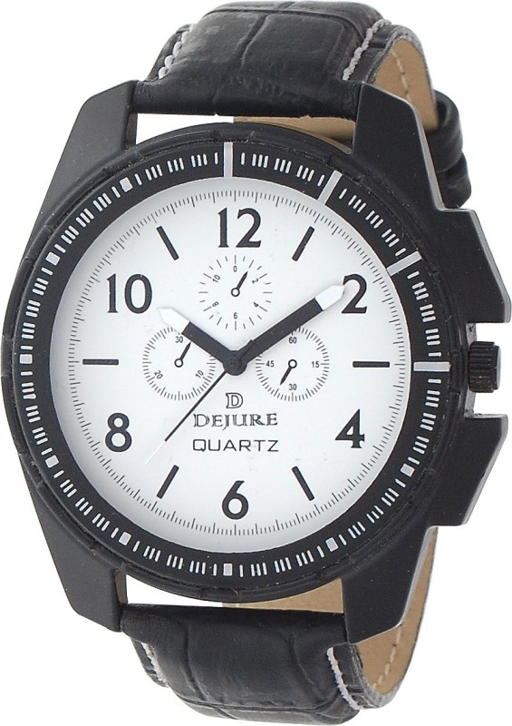 Dejure DJG10077BK Analog Watch For Men