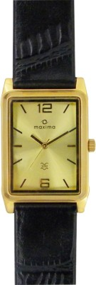 Maxima 29129LMGY Gold Analog Watch  - For Men