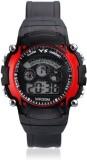 Aviva Sports SS - Red In Black Digital W...