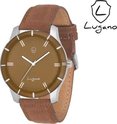 Lugano DE1045LG Analog Watch  - For Men, Boys