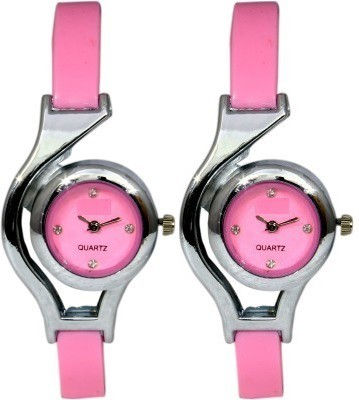Users 2PNKGL Velvety Analog Watch  - For Girls, Women