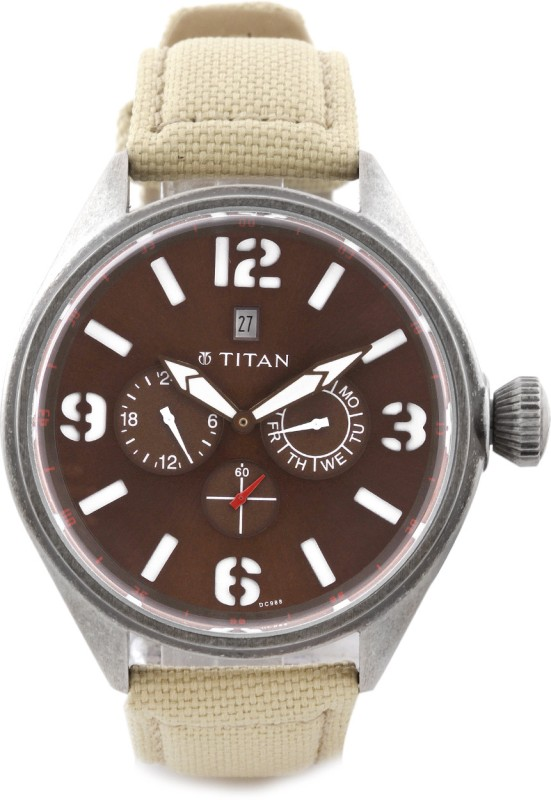 Titan 9478QF02 Purple Analog Watch For Men