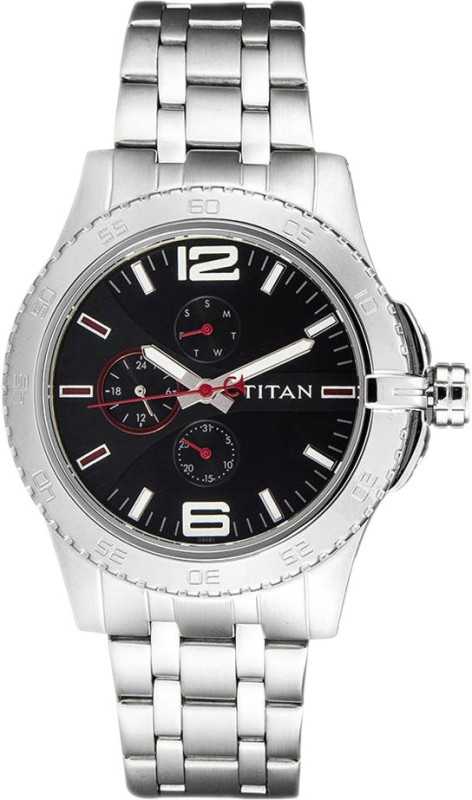 Titan 9442SM01 Purple Analog Watch For Men