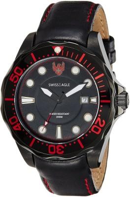Swiss Eagle SE-9018-02 Dive Analog Watch  - For Men