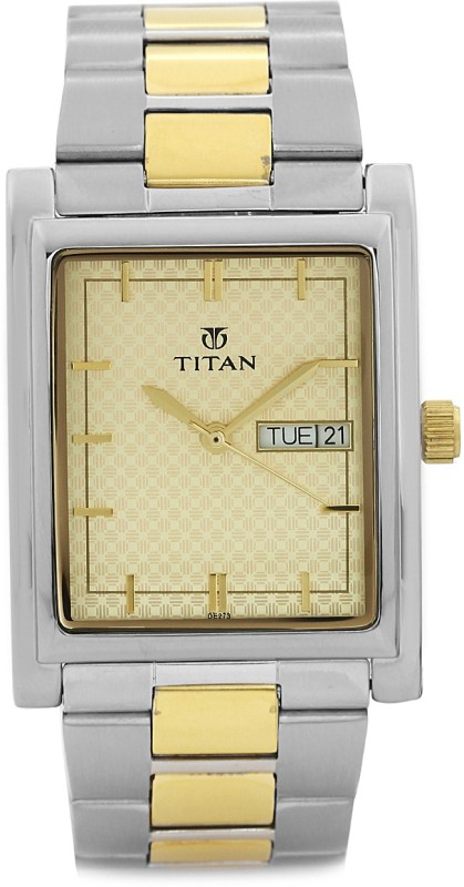 Titan NH90024BM02J Karishma Analog Watch For Men