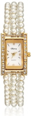 Oleva OPW10 Gold Analog Watch  - For Women