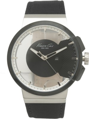 Kenneth Cole 10020855 TRANSPARENCY Analog Watch  - For Men