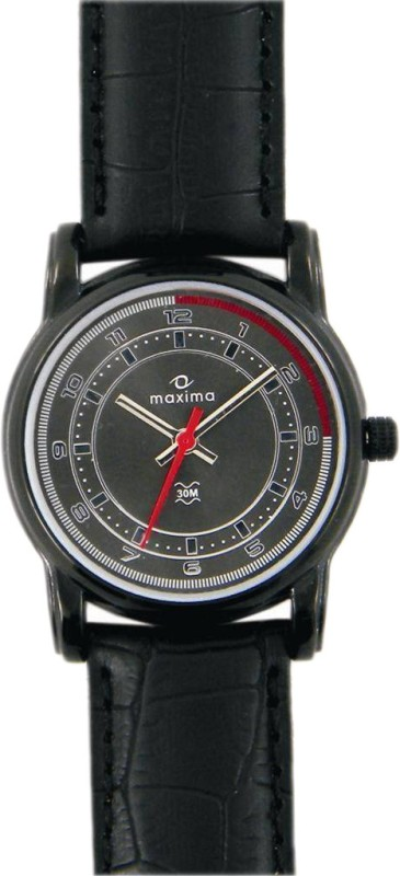 Maxima 24880LMLB Swarovski Analog Watch For Women