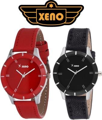 Xeno ZD000239LL Red Black Women Analog Watch  - For Girls, Women