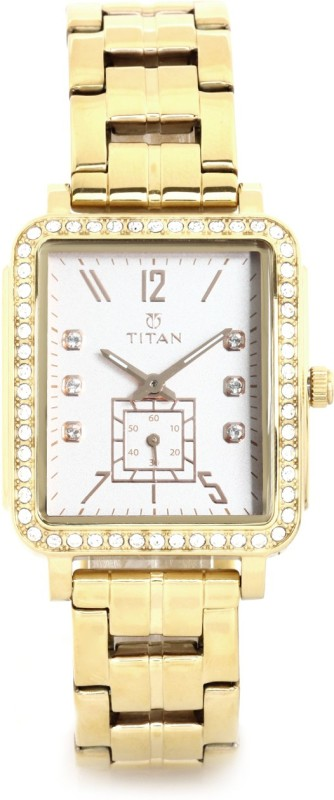 Titan 95042WM01J Analog Watch For Women