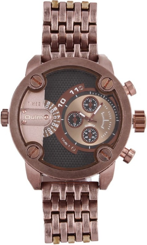 Oulm HT3130BR Analog Digital Watch For Men