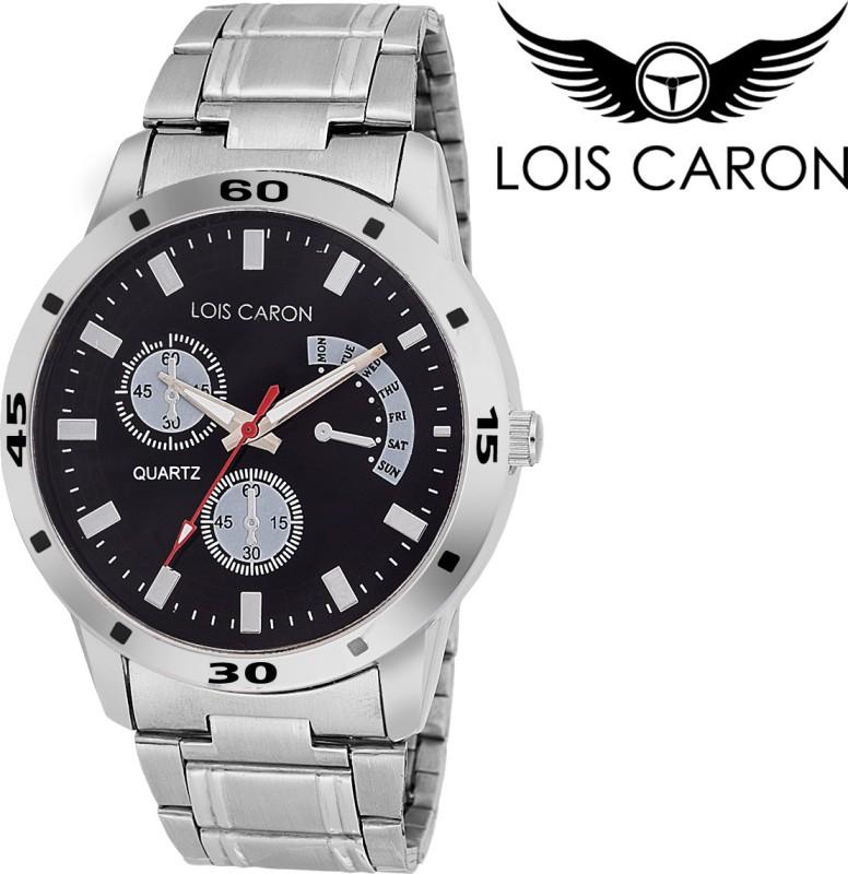 Lois Caron LCS 4092 CHRONOGRAPH PATTERN Analog Watch For Men