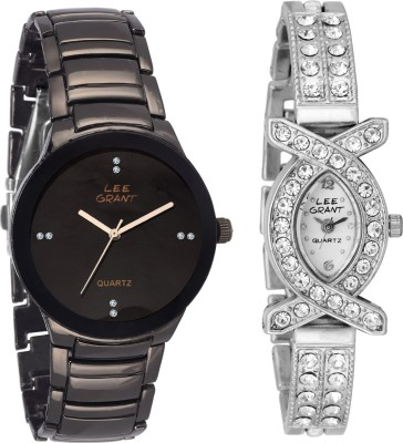 lee grant le0s11313 Analog Watch  - For Men, Women, Couple
