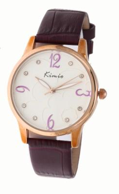 Kimio RW1270 Gold Analog Watch  - For Men, Women, Boys, Girls, Couple