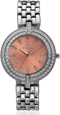 FORUS FRS1566 Sparkle Analog Watch  - For Women