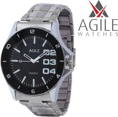 Agile AGM_041 Casino Black Fox Analog Watch  - For Boys, Men