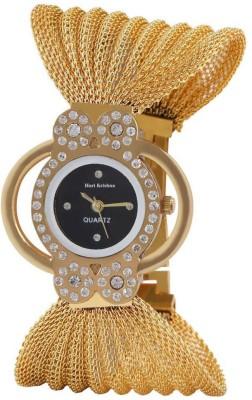 Hari Krishna Enterprise 1hk Glory_Butterfly_Jullo_Black Analog Watch  - For Girls, Women