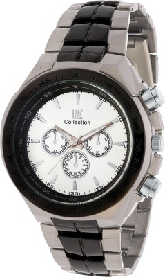 IIK Collection IIK COLLECTION-DL-GR0002-WHT-BLK Analog Watch  - For Men