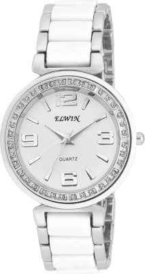 Elwin diamond white jewel Analog Watch  - For Women, Girls