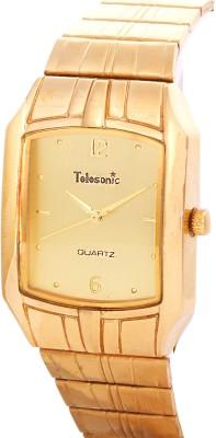 Telesonic 25RGSQM-03 GOLD Golden Era Analog Watch  - For Men