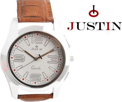 JUSTIN JIW001SL01 BASIC Analog Watch  - For Boys, Men