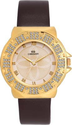 conquer cq12 Analog Watch  - For Women