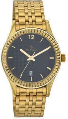 Titan N1528YM03 Analog Watch  - For Men