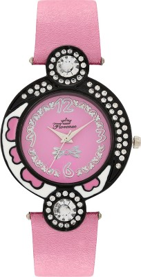 Florence F-PK-BLK-072 Analog Watch  - For Women