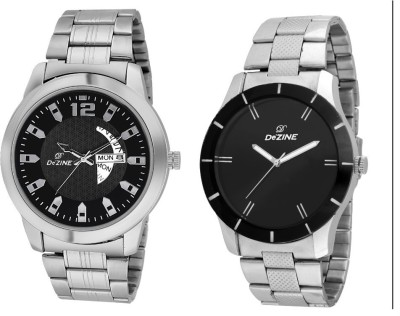 Dezine DAY AND DATE DISPLAY COMBO Analog Watch  - For Men