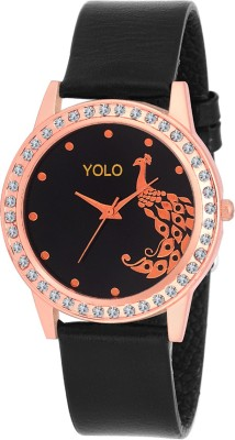 Yolo YLS-031BK Analog Watch  - For Girls, Women