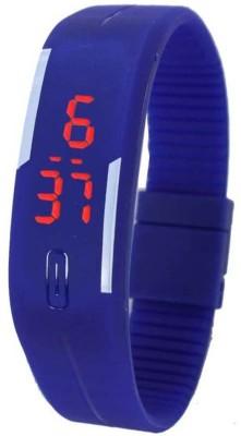 Fabkharidi Magnet Blue LED Digital Watch  - For Girls, Boys, Women, Men