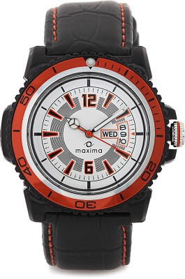 Maxima 31232LPGW Analog Watch  - For Men